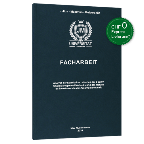 Facharbeit Premium Hardcover drucken online