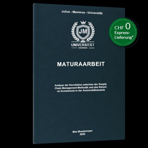 Maturaarbeit drucken binden online Premium Hardcover