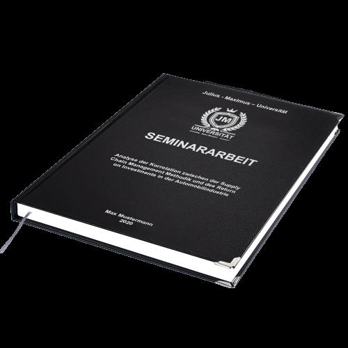 Seminararbeit Standard Hardcover liegend