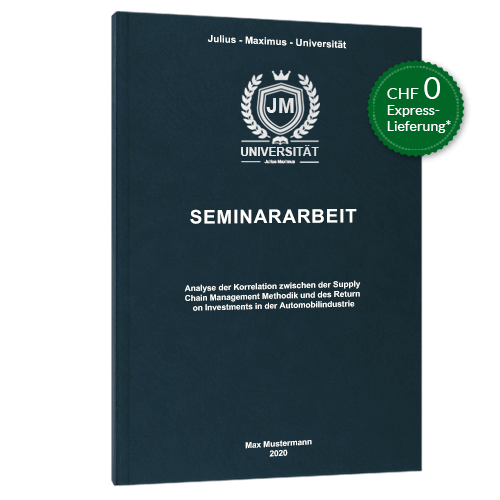 Seminararbeit binden Premium Hardcover