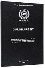 Diplomarbeit drucken Premium Hardcover