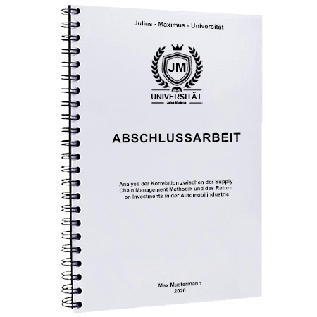 Abschlussarbeit binden St. Gallen