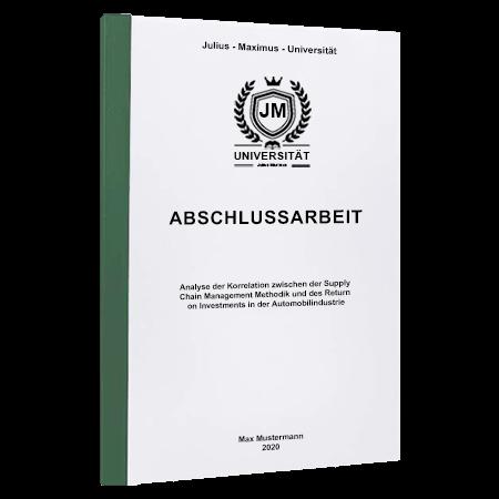 Abschlussarbeit drucken Basel