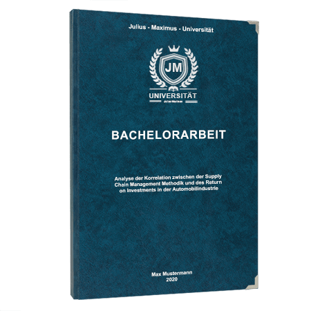 Bachelorarbeit binden Winterthur
