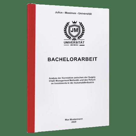 Bachelorarbeit drucken St. Gallen