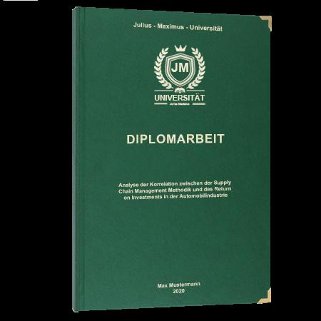 Diplomarbeit online binden Bern