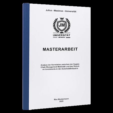 Masterarbeit drucken Winterthur