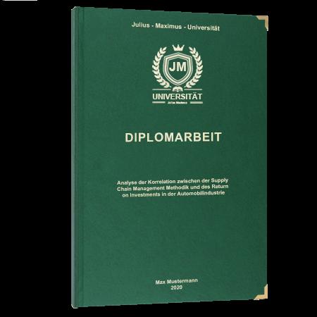Diplomarbeit online binden Zürich