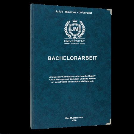 Hardcover Bindung Bachelorarbeit