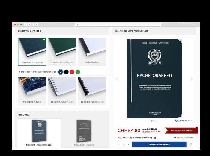 Bern Onlinedruckerei